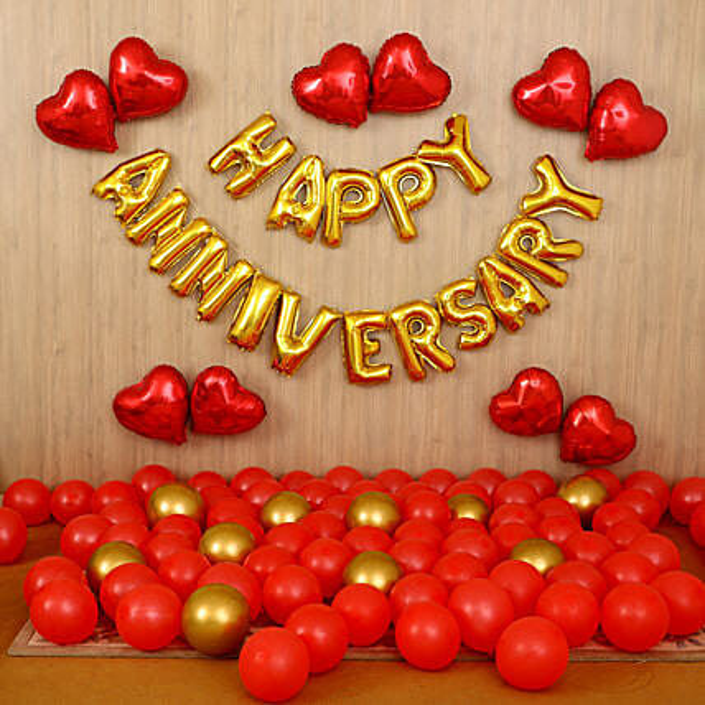 Loving Anniversary Surprise Decor