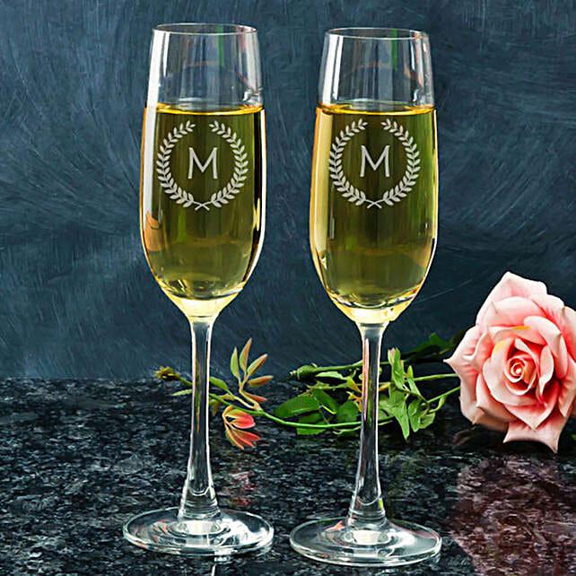 Customised Champagne Glasses Online