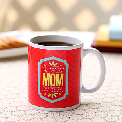 Happy Mothers Day Red Mug