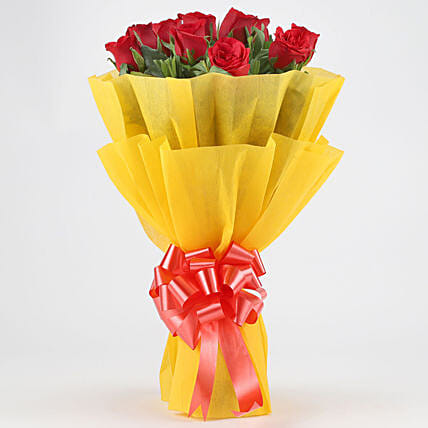 Bunch Of Stunning Red Roses