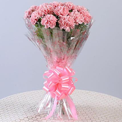 Lovely Bunch Of Pink Carnations