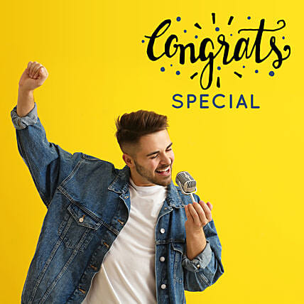Congratulations Songs By Male Singer