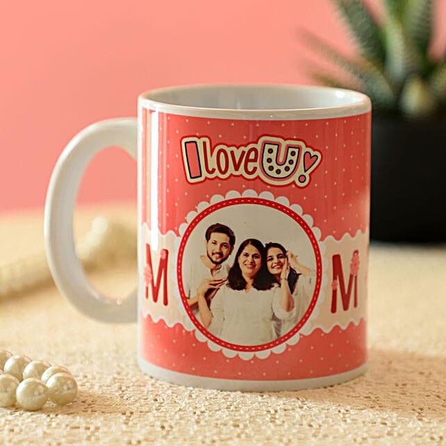 Personalised Lovely Mom Mug