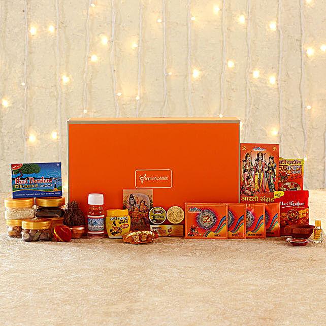 Online Griha Pravesh Puja Box:Pooja Boxes