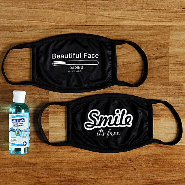 printed graffiti face mask for women:Buy Face Masks