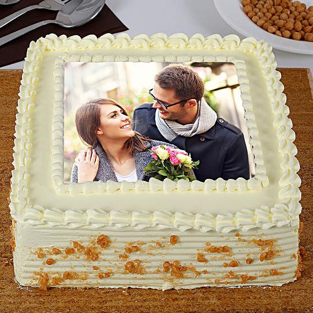 Personalised Butterscotch Cake