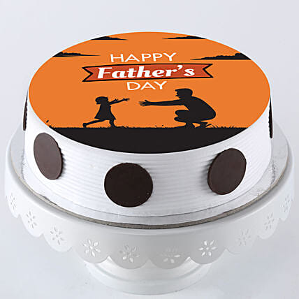 Fresh Photo Cake For Father's Day