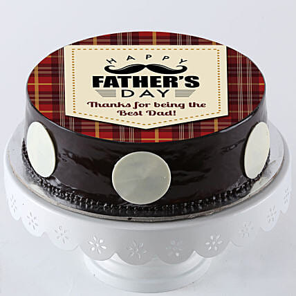 Online Photo Cake For Fathers Day