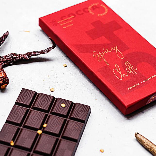 Delicious Dark Chocolate- Chilli:Dark Chocolates