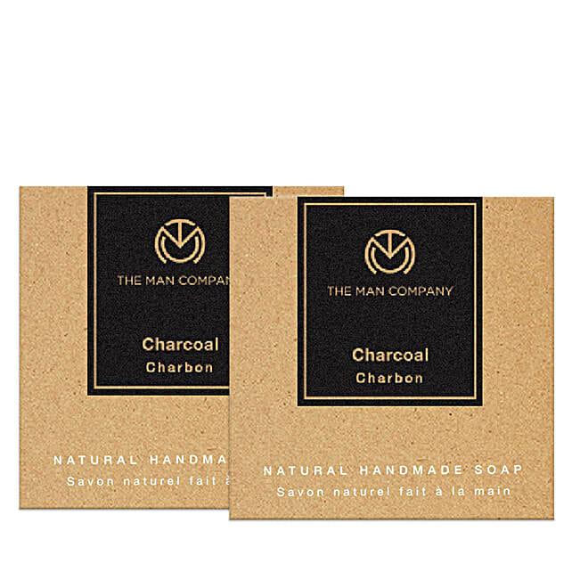 The Man Company Natural Charcoal Soaps