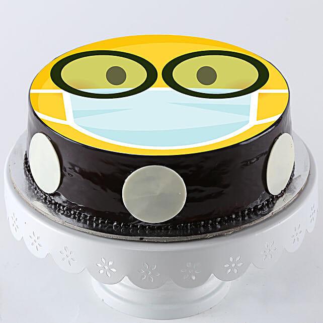 Emoji Cake For Get Well Soon