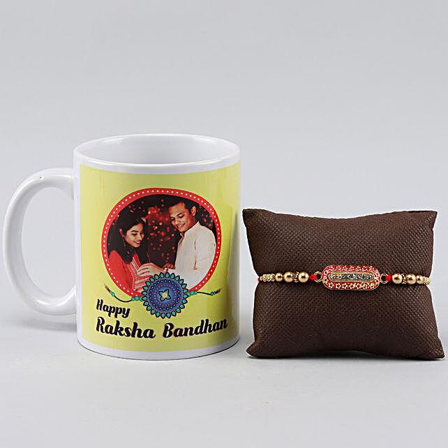 Capsule Rakhi n Raksha Bandhan Greetings Mug