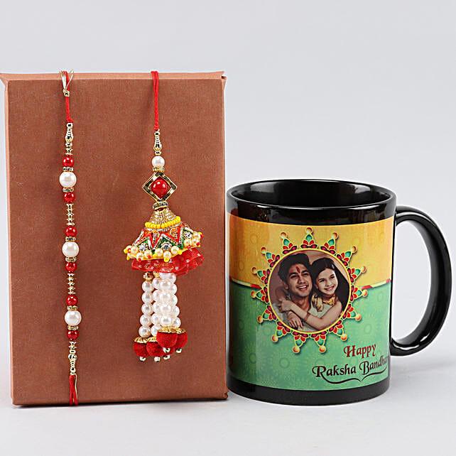 Picture Mug For Raksha Bandhan n Bhaiya Bhabhi Rakhis