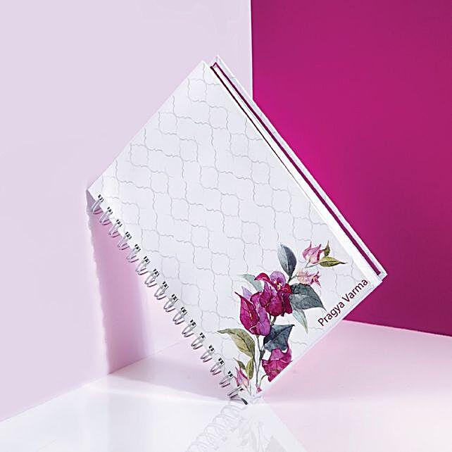 personalised notebook online