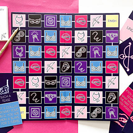 Kiss and Tell Couples Board Game