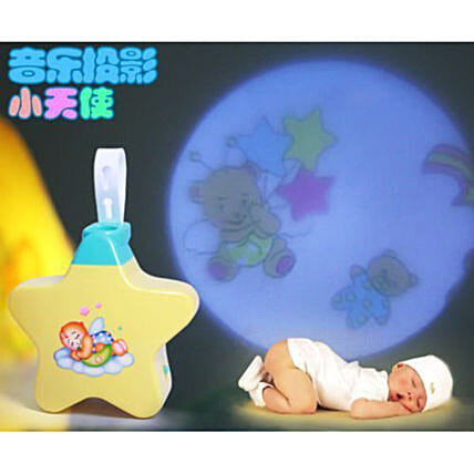 Star Shaped Musical Projector Toy