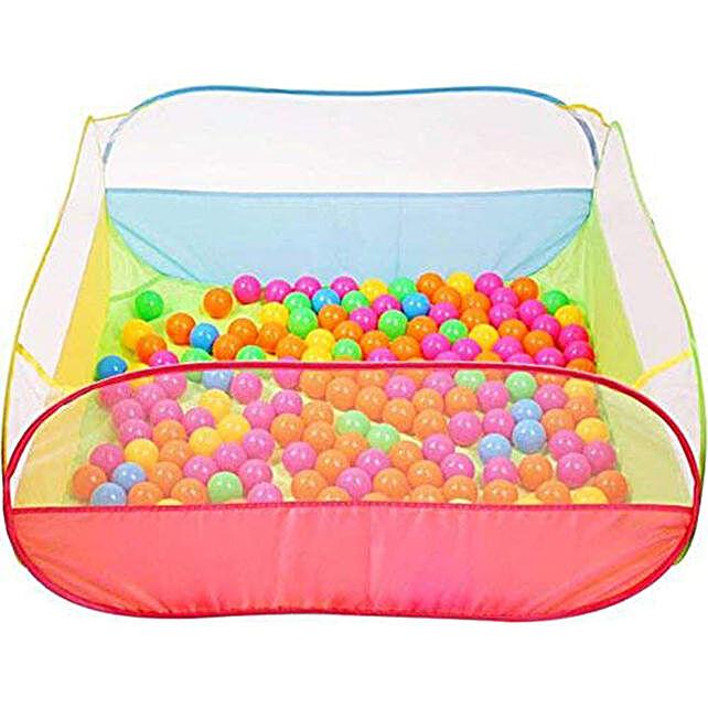 Colorful Ball Pool For Kids