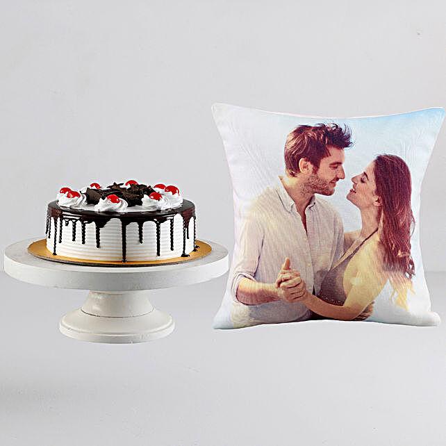 Black Forest Cake n Personalised Cushion