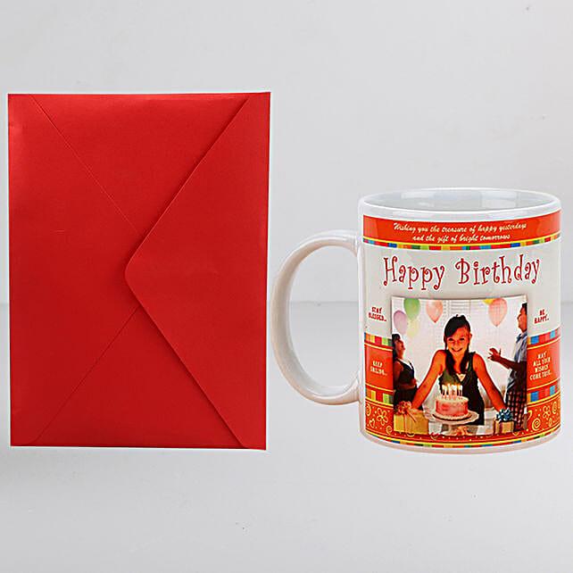 Personalised Birthday Mug n Greeting Card