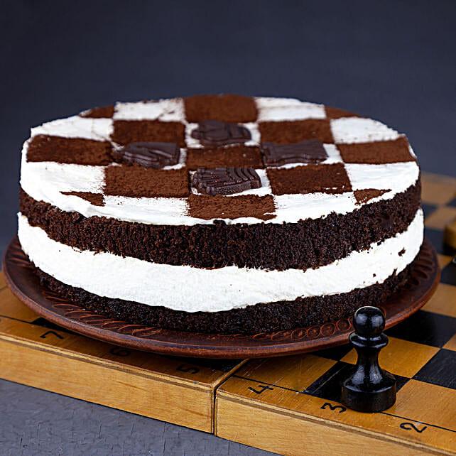 chessboard design cake online