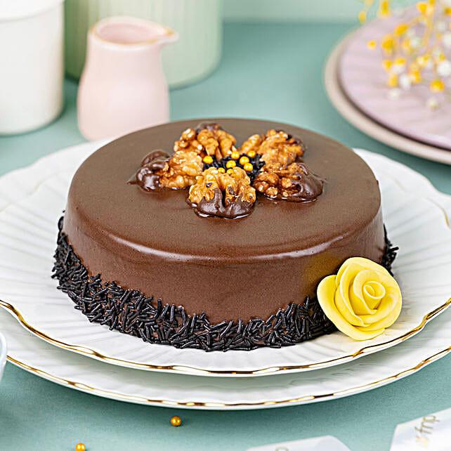 Truffle Walnut Cake Half Kg