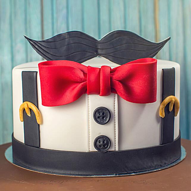 Gentleman Designer Chocolate Cake 1 Kg