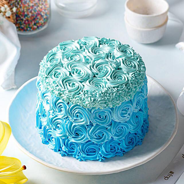 floral design cake online:Rose Cakes
