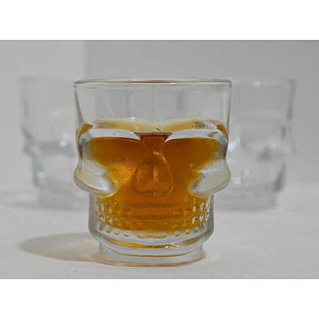Skull Head Shot Glass:Unusual Gifts