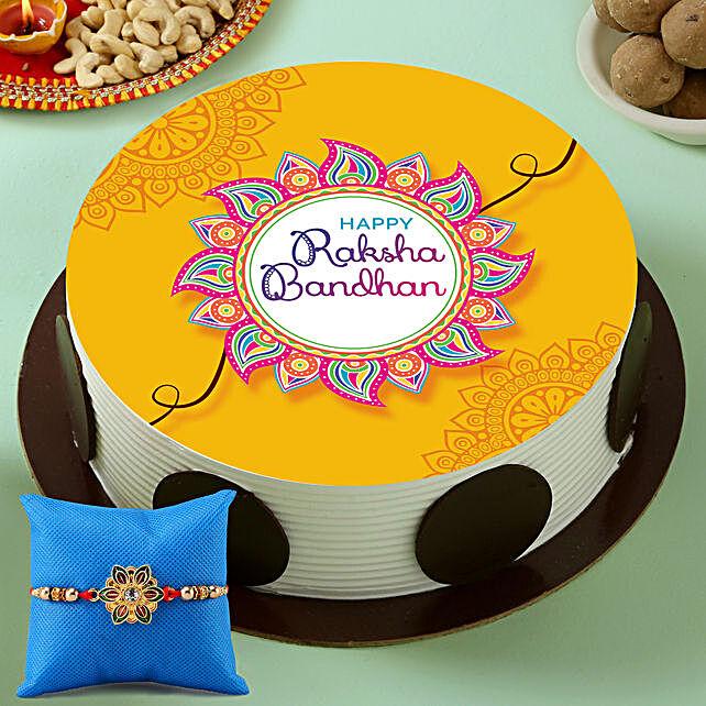 Rakhi Photo Cake Online