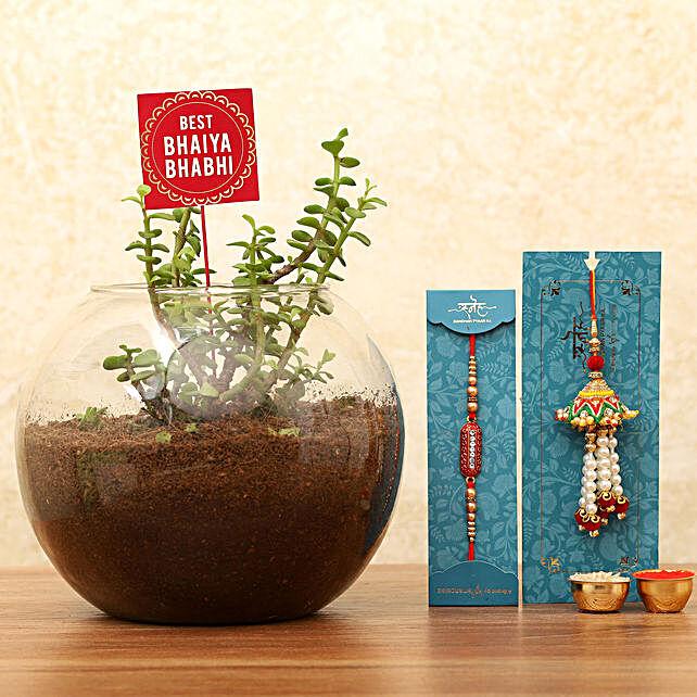 Rakhi for Bhaiya Bhabhi Online:Send Plants to Patna