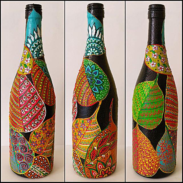 Online Peepal Patti Hand Painted Bottle