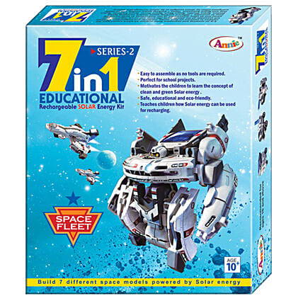 7 in 1 SOLAR SERIES 2 Online:Kids Toys