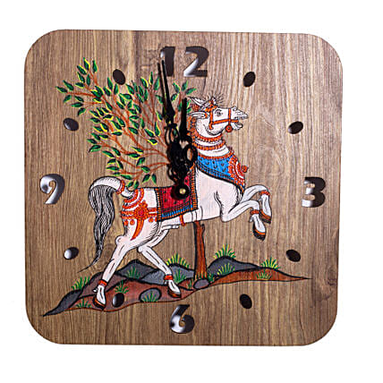 Handpainted Claasic Art Wall Clock Online:Wall-Clocks