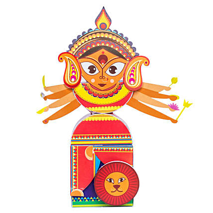 Durga 3D DIY Paper Craft Kit