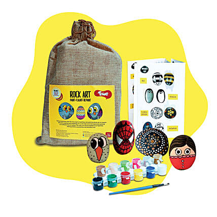 Rock Painting Kit:Baby Toys