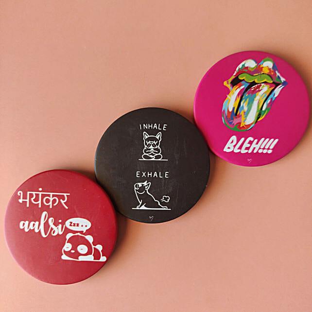 Aalsi Badge Magnet set