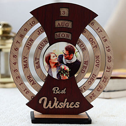 Best Wishes Personalised Calendar :Personalized Photo Frames