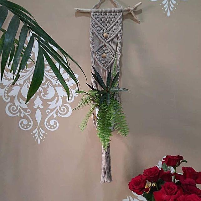 Hanging Macramay planter