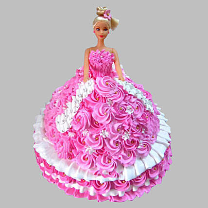 Barbie Princess cake 2kg:Cakes to Bihar Sharif