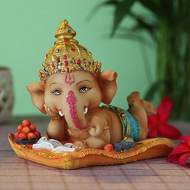 cute lord bal ganesha idol:Ganesh Idols