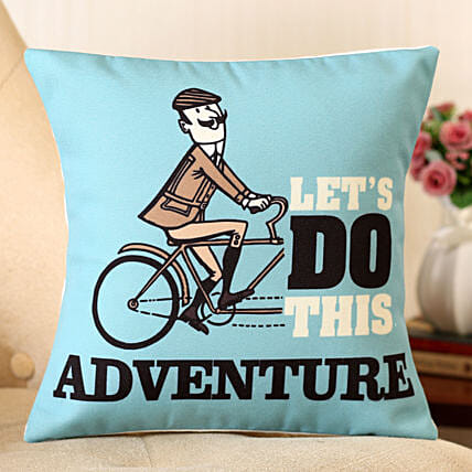 Lets Do This Adventure Cushion