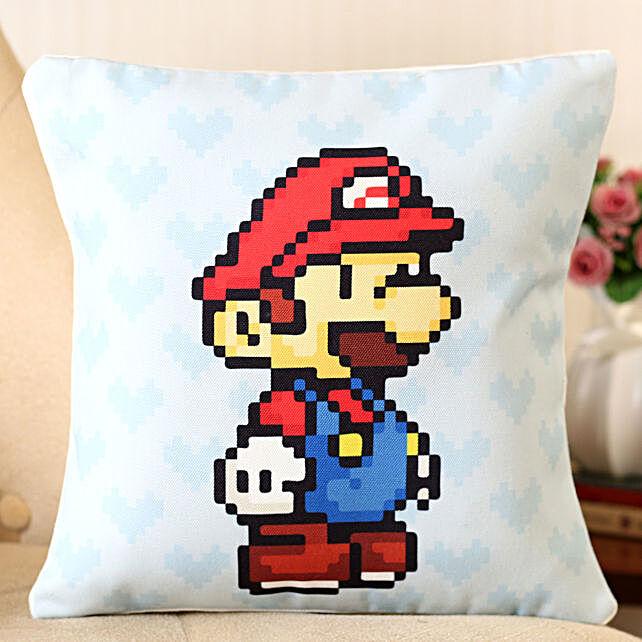 Printed Super Mario Cushion