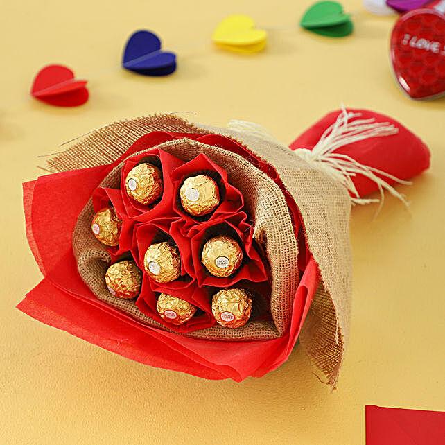 8 Ferrero Rochers Bouquet