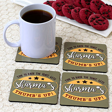 personalised coaster for couple:Coasters Gifts