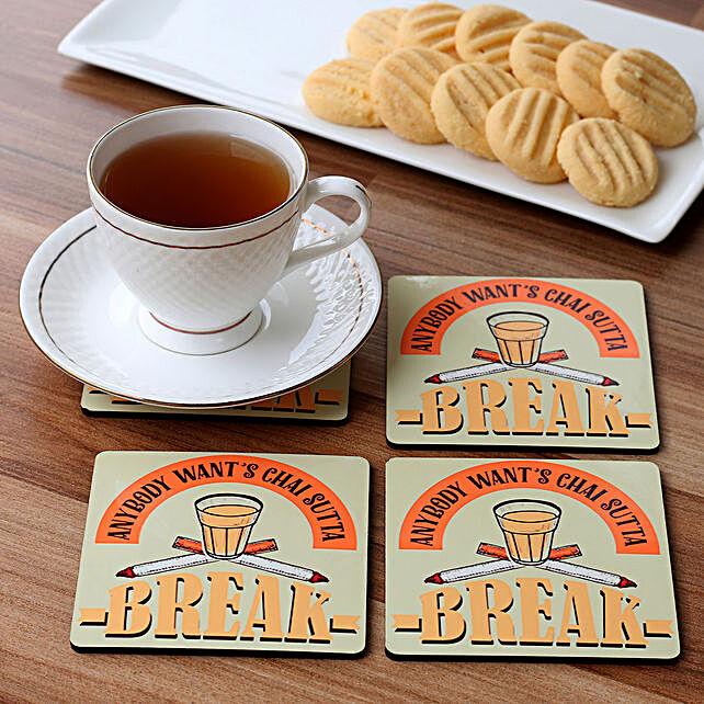 attractive printed coaster set:Coasters
