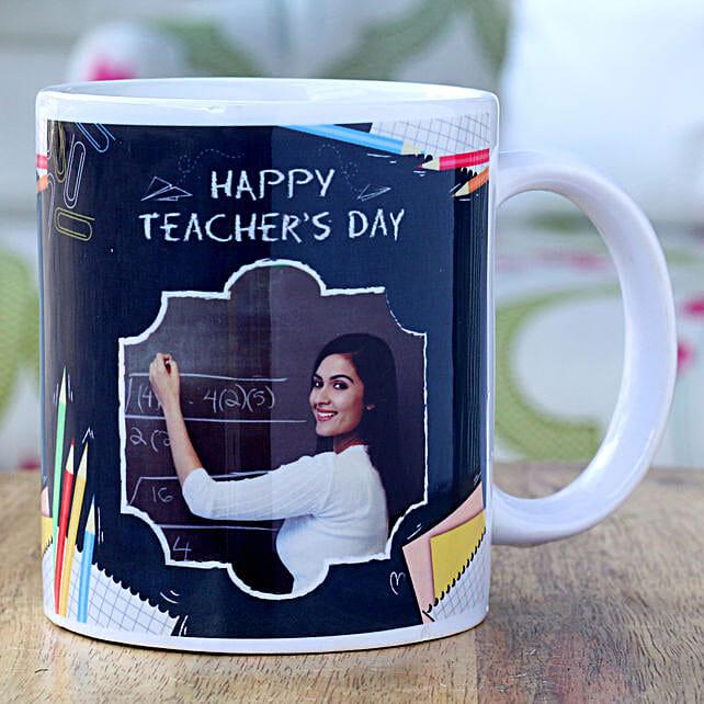 Teachers Day Greetings Personalised Mug