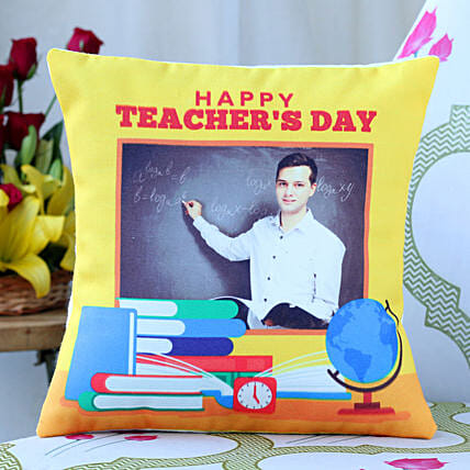 Special Teachers Day Personalised Cushion