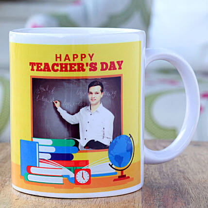 Special Teachers Day Personalised Mug