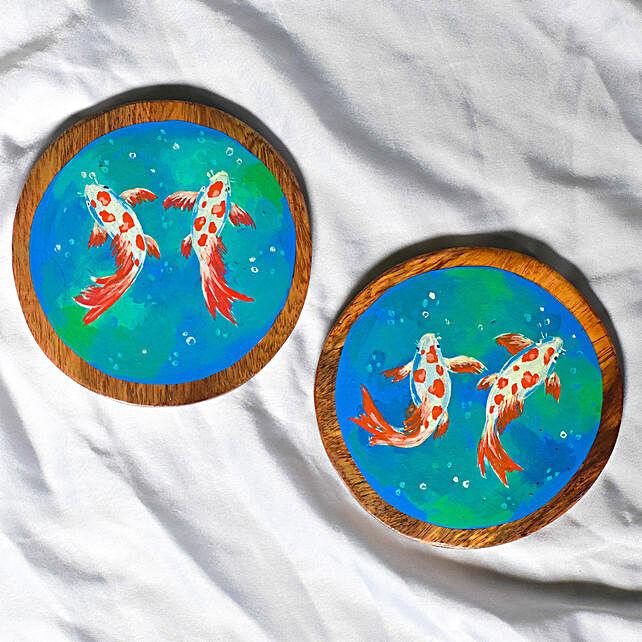 Blue Tea Coasters Online