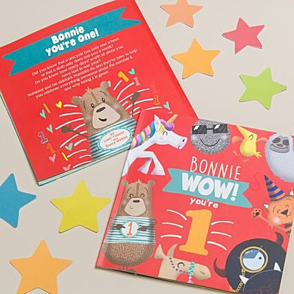 Personalised Paperbook for 1 Year Old